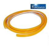 Tubo ad alta pressione dello spruzzo d'acqua di potere del PVC, tubo flessibile Braided