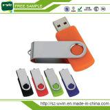 旋回装置によってカスタマイズされるロゴUSB主USBの棒USBのフラッシュ駆動機構