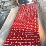 Galvanisiertes gewölbtes Stahlblech des Metalldach-Blatt-PPGI