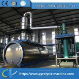 Petróleo de motor usado que recicl a planta de destilação