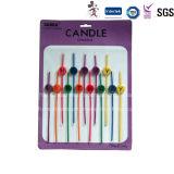 Nuevas nuevas velas finas románticas diseñadas personalizadas populares de la forma cónica