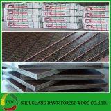 la película de 18m m hizo frente a la madera contrachapada concreta del encofrado de la madera contrachapada