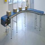Transportador espiral de los sistemas de la banda transportadora de los productos del bulto de la conexión de Plast