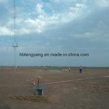 Tour d'antenne galvanisée de télécommunication de Guyed d'IMMERSION chaude