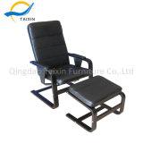 Presidenza moderna del tessuto dell'unità di elaborazione della mobilia della casa dell'ufficio con il poggiapiedi
