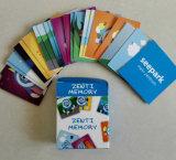 Cartões promocionais de poker para jogos de impressão de desenhos animados