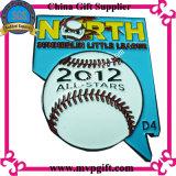 Значок металла для бейсбола резвится подарок значка (M-EB88)