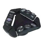 [لد] 9 أعين عنكبوت متحرّك رئيسيّة حزمة موجية إنارة مصباح