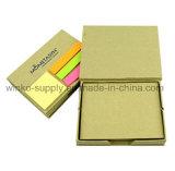 Boîte de mémo recyclé personnalisé Sticky Notes avec des prix bon marché