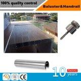 Balaustrada do corrimão SS304/316/encaixes do corrimão/aço inoxidável (