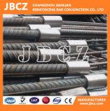 giuntura meccanica di rinforzo dei materiali da costruzione di 12-40mm dell'acciaio del tondo per cemento armato concreto della soluzione