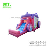 Carriage Inflatable Bouncerピンクの王女