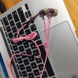 Het in-oorOortelefoon van de Draad van het Woofer TPE van de ritssluiting Stereo met Michael