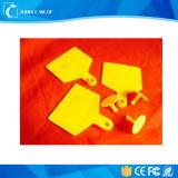 Em4305 de Volledige Markering van het Oor van de Markering van Kleuren RFID Dierlijke voor het Volgen