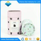 Custom цветочный фруктового упаковочный картон Kraft трубы