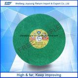 Диск вырезывания T41 для зеленого цвета режущего диска 400mm нержавеющей стали