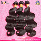安いボディ波状の等級8Aの加工されていないバージンの毛のモンゴルのペルーのマレーシアのインドの毛カンボジアボディ波の毛