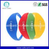 Wristband respetuoso del medio ambiente programable vendedor caliente de la clase superior RFID