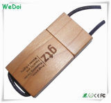 Novelty Wooden USB Stick with Lanyard como presente promocional (WY-W28)