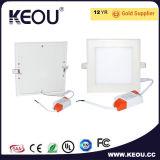 Ultra dünnes hohes hohes IP44 Licht des PF0.9 Panel-LED der 3-24W Instrumententafel-Leuchte