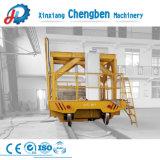 Linha de corrediça de transferência da máquina pesada carga pesada com sistema de carrinho