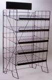 Metal Retail Wire Show Garment / Clothes / Colthing Display Rack