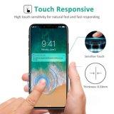 Les Anti-Empreintes digitales anti-déflagrantes Anti-Rayent le protecteur d'écran en verre Tempered de film pour l'iPhone 10