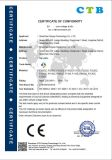 Porte coulissante de qualité durable en acier inoxydable