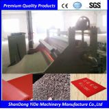 PVC 두 배 색깔에 의하여 살포되는 코일 지면과 차 발 양탄자 플라스틱 압출기 기계