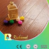 Домашних хозяйств 8.3mm E0 HDF рельефным Elm V-ребристого ламинированные полы