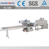 Le produit de beauté automatique met la machine horizontale d'emballage en papier rétrécissable de la chaleur
