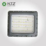 Iluminación peligrosa de la localización - 150 vatios - 30 LED - clase 1, Division1& 2 - montaje permanente