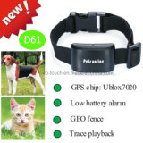가장 새로운 IP67는 다기능을%s 가진 애완 동물 GPS 추적자를 방수 처리한다 (D61)