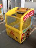 Congelatore caldo della cassa del gelato di vendita del supermercato