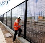 Порошковое покрытие высокой стены безопасности 358 Anti-Climb проволочной сеткой