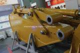 Boum et bras normaux d'extension de pièces de rechange d'excavatrice longs avec la position pour des pièces de machines de construction de tracteur à chenilles