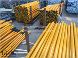 조정가능한 강철은 중국에 있는 Formwork 비계 강철 버팀대를 버틴다