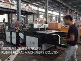 2 Zeile vollautomatischer Shirt-Beutel, der Maschine für langsames herstellt