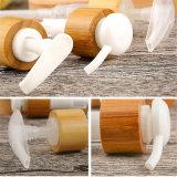 28/410 Shampoo-Flaschen-Lotion-Pumpe mit Bambus