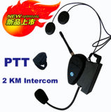 auriculares do capacete de Bluetooth da motocicleta do intercomunicador de 100m ou de 500m