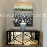 ホーム装飾のためのハンドメイドの綿フィールド油絵