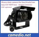 600 700 lignes CCD Sony Heavy Duty étanches pour la caméra avant & arrière&Vue latérale 24V avec connecteur de l'aviation