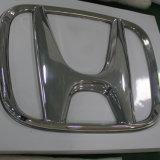 знак логоса автомобиля Thermoforming освещения выставочного зала СИД автомобиля цвета серебра крома 3D автоматический