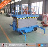 Elevador de tesoura pesado para construção