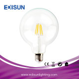 4W/8W E27, G95 LED regulable lámpara de incandescencia