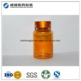 Frasco plástico da medicina do ouro plástico quente do animal de estimação 120ml do produto da venda