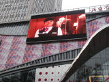 Outdoor Advertizing LED Sign를 위한 P8 DIP Full Color LED Video Wall