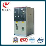 Apparecchiatura elettrica di comando media di potere di tensione dell'apparecchiatura elettrica di comando isolata gas placcato dell'apparecchiatura elettrica di comando del metallo (GIS) a