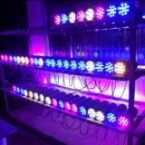 En el exterior de la luz de pared LED impermeable