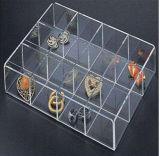 De duidelijke Plastic AcrylVitrine van de Juwelen van de Juwelen van de Make-up
